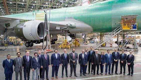 Boeing and Saudi Arabian Military Industries form joint venture partnership 2