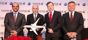 European campaign of Qatar Airways