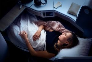 Get some Sleep on Air Canada now on major US-Canada routes