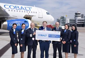 Duesseldorf to  Larnaca now on Cobalt Air, Cyprus