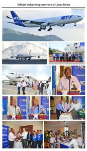 An official welcome to mark return of Air France to Seychelles since May 5