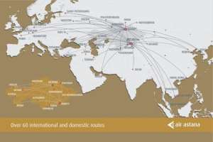 How  important is Russia for Air Astana?