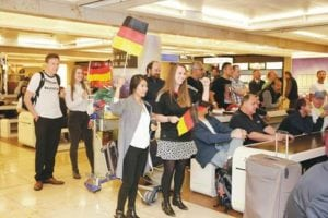 World Cup Fever at Frankfurt Airport Live soccer coverage for passengers in both terminals