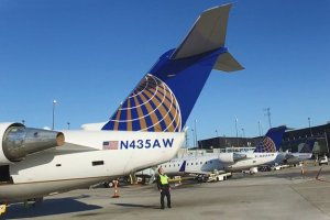 United Express flight attendants authorize a strike