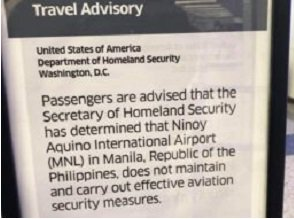 US issues travel advisory for Manila's Ninoy Aquino International Airport 17