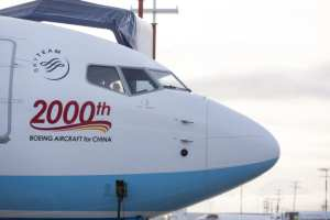 China Commercial Airlines received 2000 Boeing planes