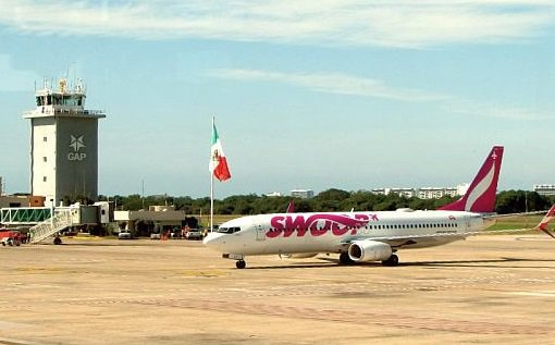 Swoop's inaugural flight from Abbotsford lands in Puerto Vallarta 1