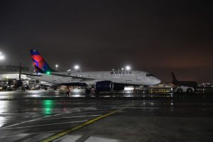 Delta Air Lines' A220s takes to the skies for first commercial flight