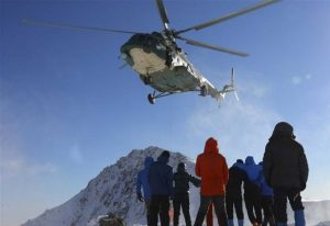 10 tourists trapped by avalanches rescued in China's Xinjiang