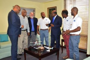 Bartlett holds discussions with Jamaica Civil Aviation Authority