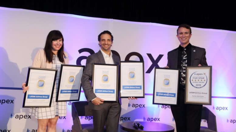 LATAM named Best Global Airline in South America 1