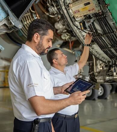Etihad Airways adopts new Boeing Toolbox Mobile Library 1