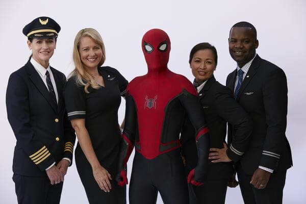 United Airlines launches new safety video featuring Spider-Man 1