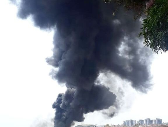 Fire started by Indian fighter jet shuts down Goa International Airport 1
