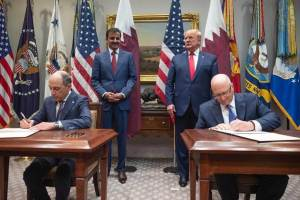 Qatar Airways and GE Aviation sign groundbreaking agreements
