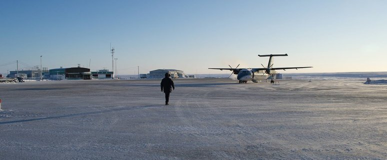 Government of Canada investing in safety at the Cambridge Bay Airport 12