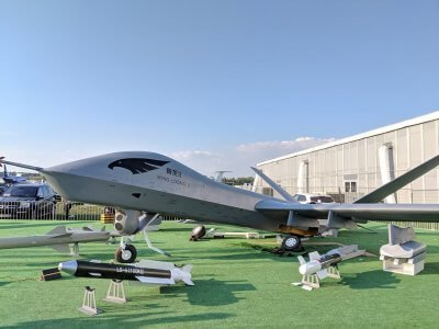 Russian kids destroy 'top-notch' Chinese attack drone at MAKS airshow in Moscow 1