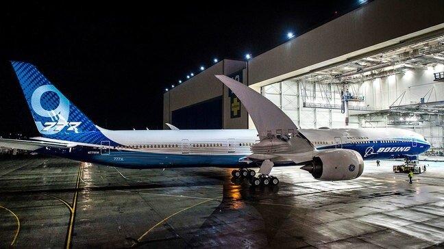 Boeing suspends testing of long-range 777X jet after plane's door blows off 1