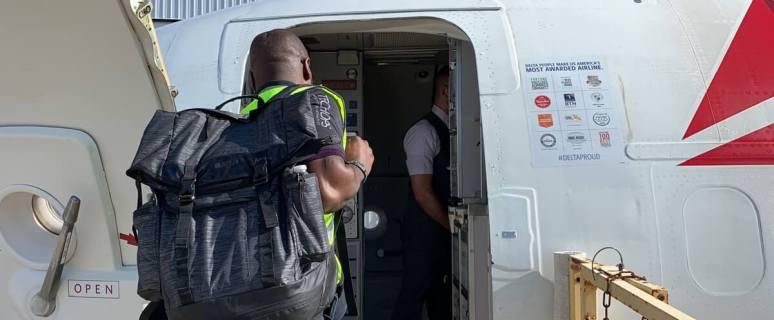Delta relief flight to Bahamas evacuates Dorian survivors, delivers 4,700 pounds of supplies 6