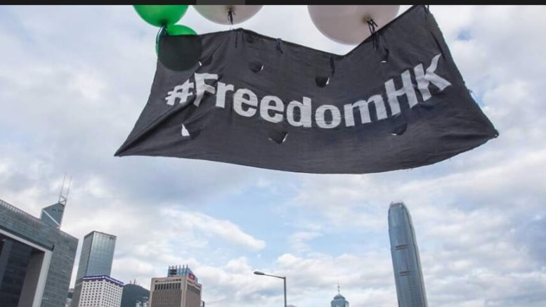 Protest Tourism to Hong Kong? 1