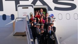 Qantas Airways: On board for close to a day 8