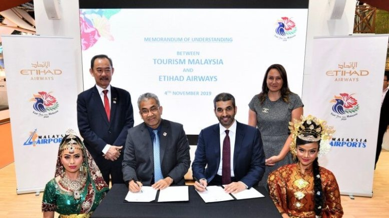 Etihad Airways and Tourism Malaysia partner to attract visitors to Malaysia 1