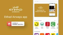 Etihad Airways launches Huawei AppGallery app 5