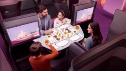 Qatar Airways introduces Qsuite on Atlanta and Miami flights 43
