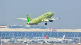 Sixth Chinese new C919 large passenger jet gets airborne 8