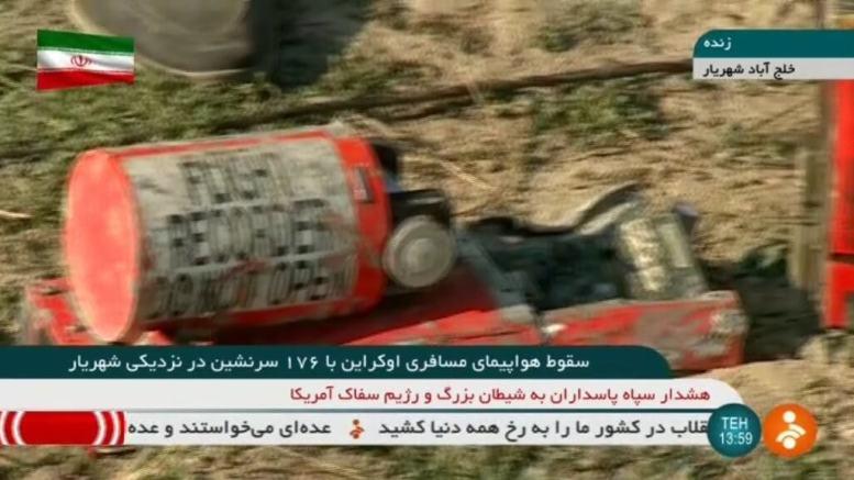 Hiding something? Iran refuses to release crashed Ukrainian plane's black box 1