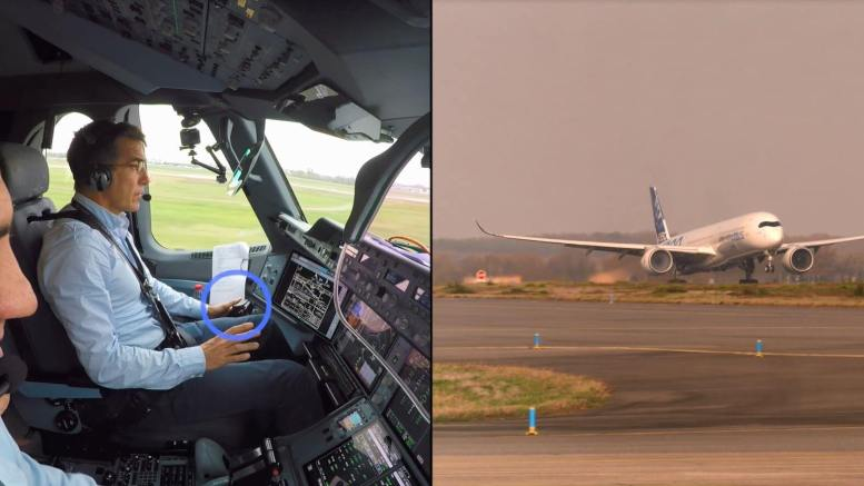 Airbus demonstrates first fully automatic vision-based take-off 1