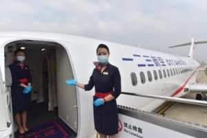 New OTT Airlines makes maiden flight from Shanghai to Beijing