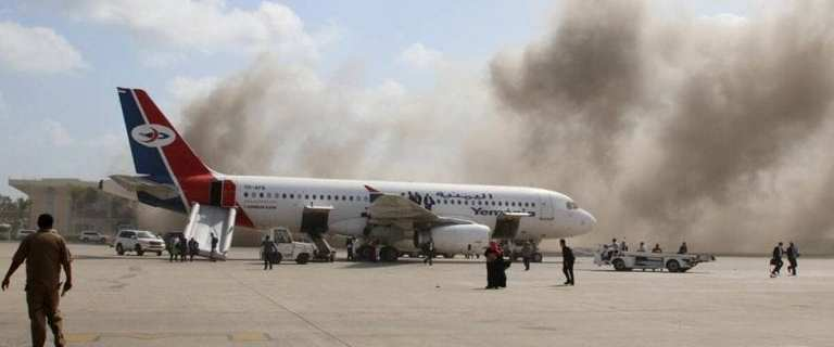 Dozens killed and wounded in Aden International Airport attack in Yemen 8