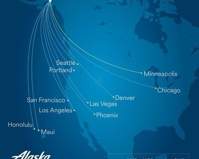 Alaska Airlines adds new nonstop flight from Anchorage to Minneapolis-St. Paul 29