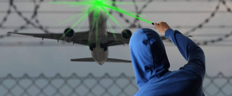 FAA: Laser strikes increase even with fewer planes flying 23