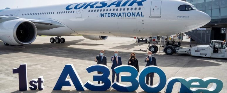 Corsair takes delivery of its first Airbus A330neo 36