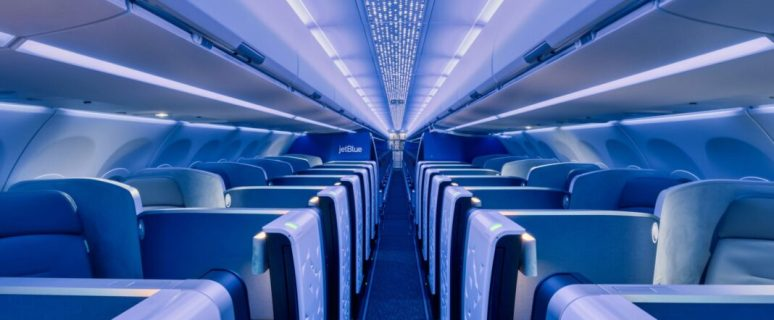 JetBlue takes delivery of Airbus A321LR with first Airspace interior 1