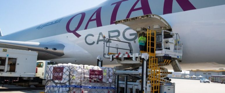 Qatar Airways flies essential medical supplies to India free of charge 8
