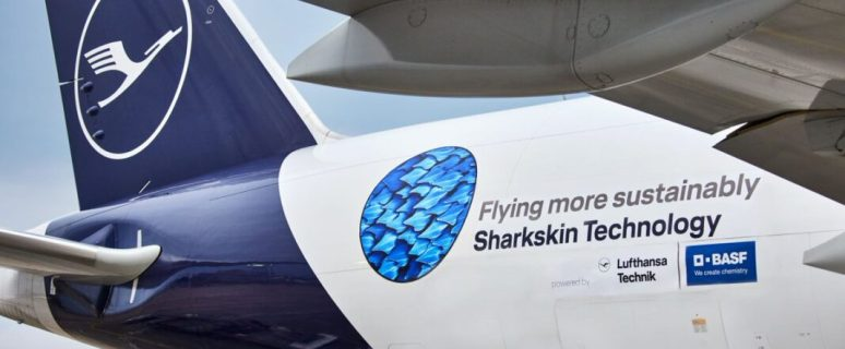 Lufthansa Group and BASF roll out sharkskin technology 41