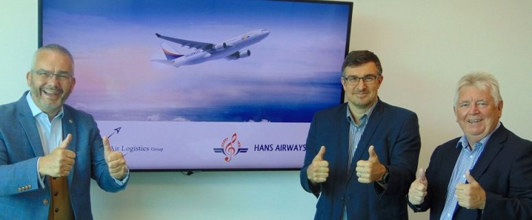 Hans Airways Signs Contract with Air Logistics Group 1