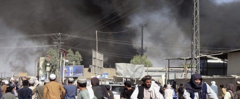 In flames: Huge fire breaks out at Kabul Airport 41