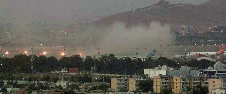 Second explosion reported at Kabul airport after 13 people killed in first bombing 21