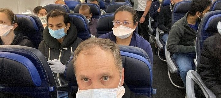 As COVID-19 variants escalate, face masks on airplanes are changing 3