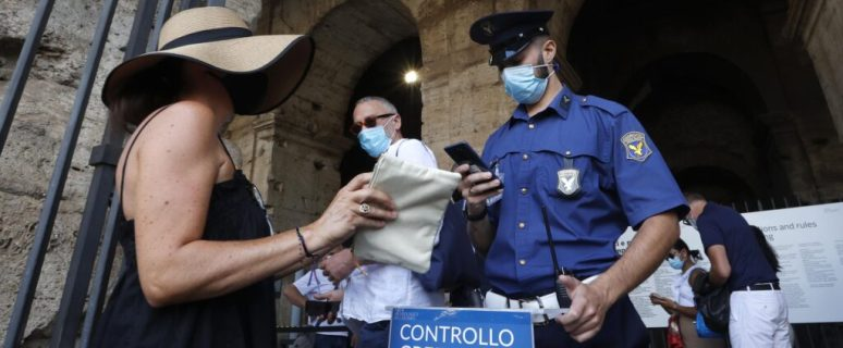 COVID-19 health pass is now mandatory in Italy 32