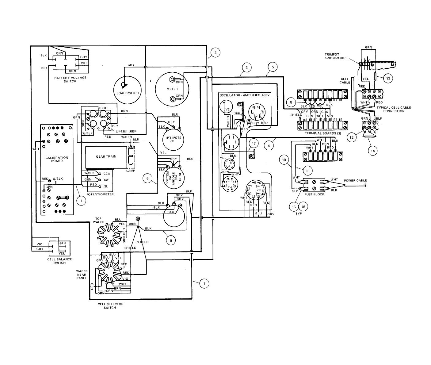 737 Electrical System Schematic