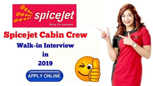 spicejet cabin crew interview