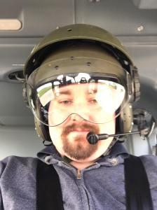 Chris Mould Flying