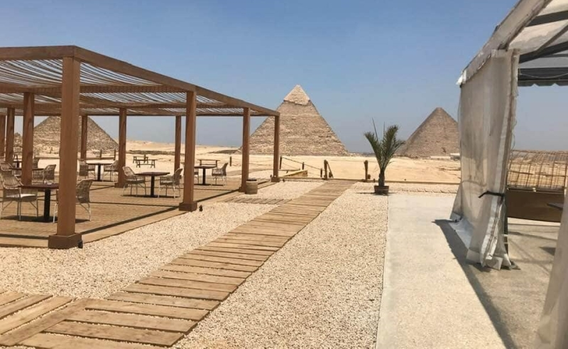 Africa: 9 Pyramids Lounge,Egypt's first tourist restaurant launched at Giza  Pyramids