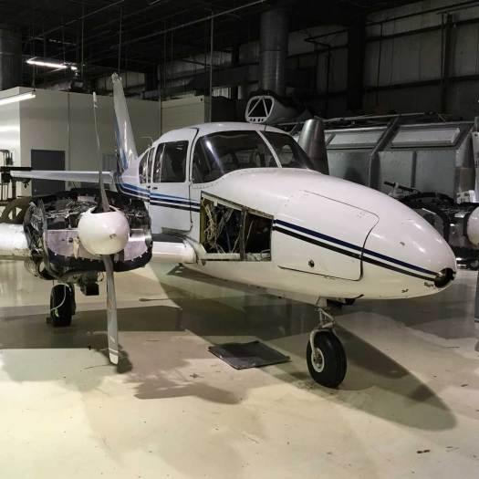 Aviation Institute of Maintenance - Indianapolis Hangar Plane