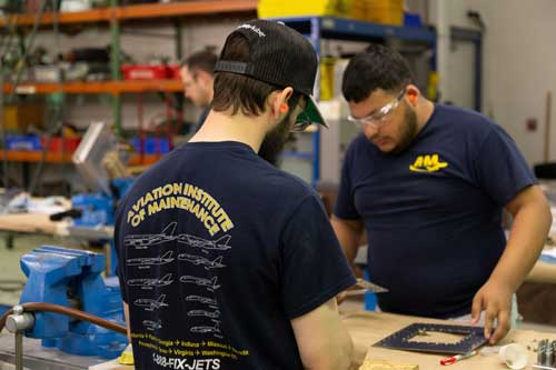 Aviation Institute of Maintenance - Students